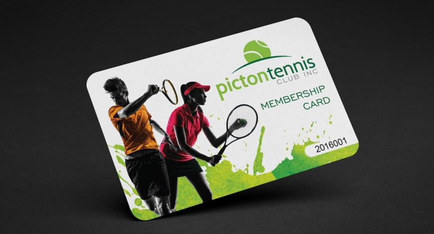 Picton Tennis Membership Card