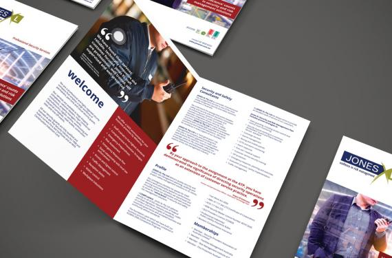 Jones XL Professional Security Services Brochure